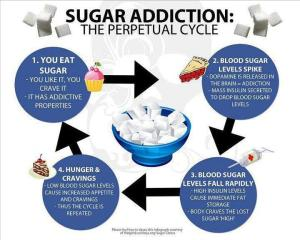 Sugar-Addiction Cycle