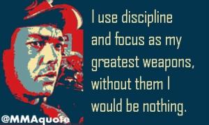 Discipline creates strength