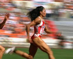 I'll do the work to look like Flo Jo, my childhood hero!