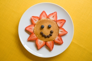smiley-face-pancake