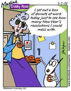 Oooh, don't ruin your kindness, offer donuts but don't pressure the dieters and healthy co-workers!