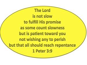 God is patient!