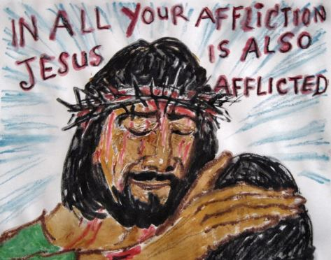 Source: Jesus is Afflicted by Astrid