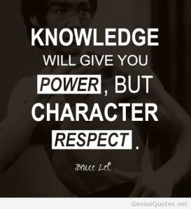 respect character