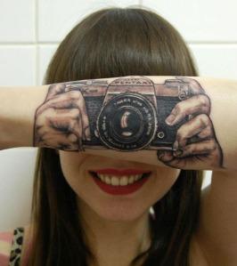 camera tatoo