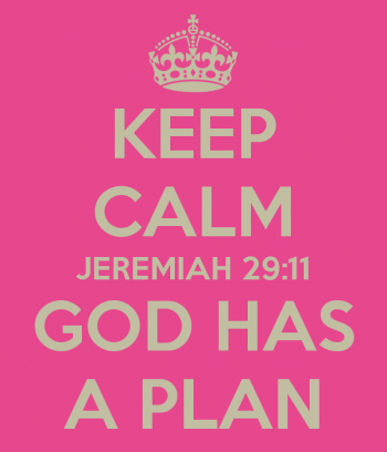 Keep Calm God Has A Plan