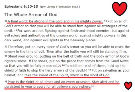 Ephesians 6 10 - 18