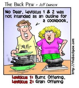Some Leviticus Humour