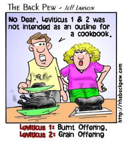 Some Leviticus Humour