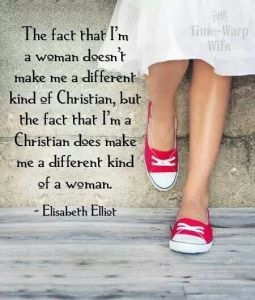 Different Christian woman