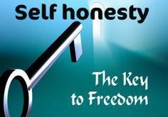 self honesty  brings freedom