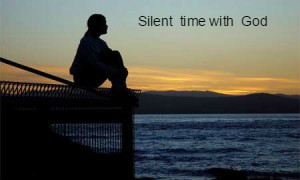 Silent Time With God