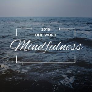 One Word Mindfulness