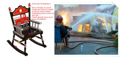 Armchair_Firefighter Definition