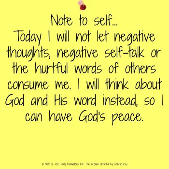 Hurtful Words and God's Peace