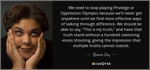 oppression olympics quote