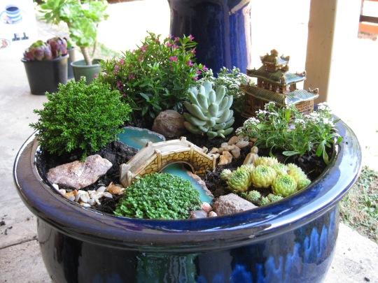Miniature Japanese Zen Garden