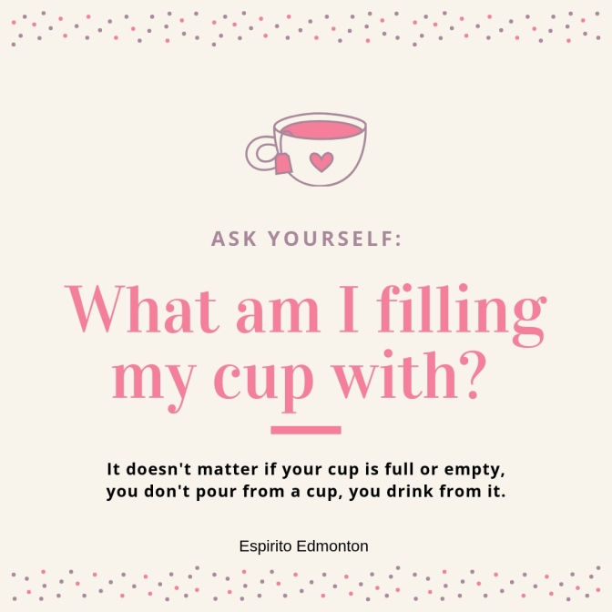 Fill Your Cup and Others Also