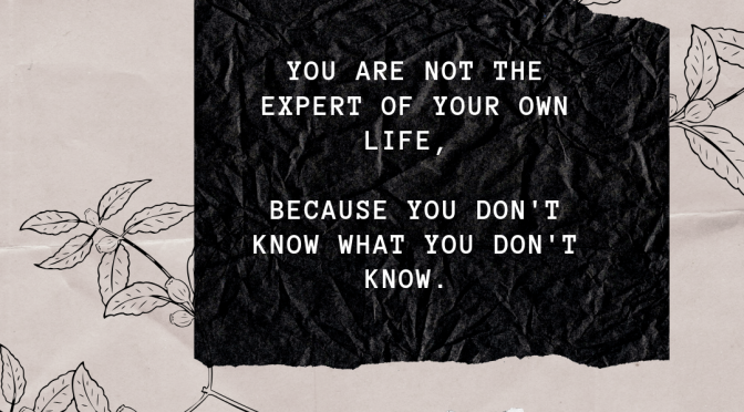 There Are No Experts On Life
